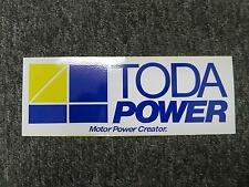 TODA POWER TODA RACING DECAL STICKER AP1 AP2 EG6 EK9 DC2 FD2 ITR CTR CRX DC5