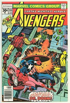 Avengers 156 9 0 9 2 High Grade Dr Doom Thor Vision Scarlet Witch Nice Pages Rc Ebay