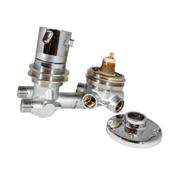 Miscelatore termostatico con deviatore 5 vie Albatros Revita 306007