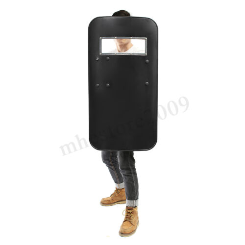 Anti-Riot Shield PC Security Equipment for Cosplay Police Tactical CS 5mm !