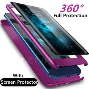 super popular 003e4 15bd8 Luxury 360 Degree Full Cover Phone Shockproof Case For Samsung ...