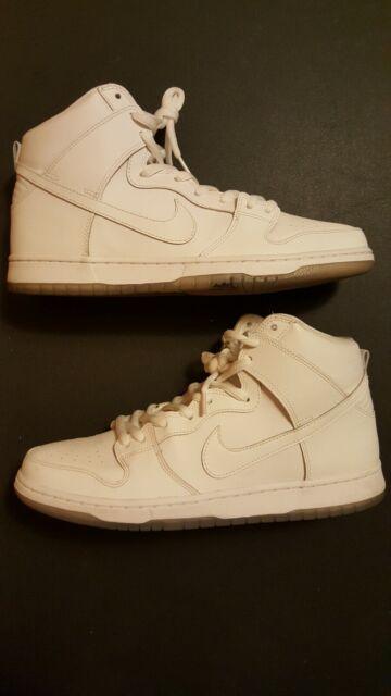 Opcional Descanso Generalmente hablando  Nike Mens Dunk High Pro SB White/light Base Grey 305050-113 7 for ...