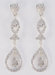 delicate-White-CZ-925-Sterling-Silver-White-Natural-supply-US-gift