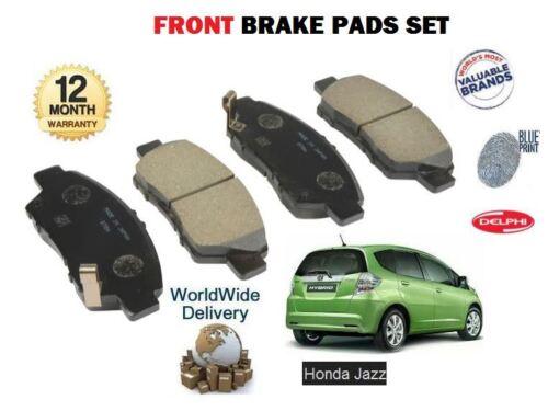 FOR HONDA JAZZ 1.2 1.3 HYBRID 1.4 VTEC 2008-/>NEW FRONT BRAKE PADS SET