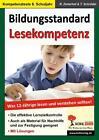 Bildungsstandard Lesekompetenz / Was 12-Jährige lesen und verstehen sollten! von Reinhold Zinterhof (2009, Taschenbuch)