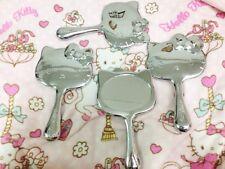 NIB Authentic Hello Kitty by Sanrio Metallic Hand Held Mirror Limited Edition