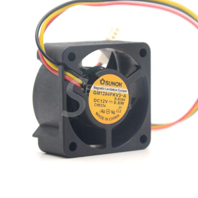 4pcs SUNON DC Cooling Fan 40x40x20mm 4020 12V 3pin 0.6W 0.8W 1.38W 2.4W Optional