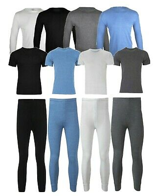Men's Thermal Base Layer Camping Winter Long Johns Underwear T-shirt Bottoms Set Verpackung Der Nominierten Marke