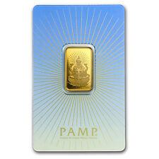 10 gram Gold Bar - PAMP Suisse Religious Series (Lakshmi)