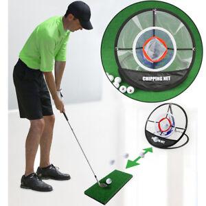 ae03817fc7c82c A imagem está carregando Out-Indoor-Golf-Training-Chipping-Net-Pop-up-