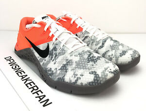 Details about Nike Metcon 4 XD Men's 9.5 Cross Training Shoe Grey Camo  Crimson BV1636 800 New