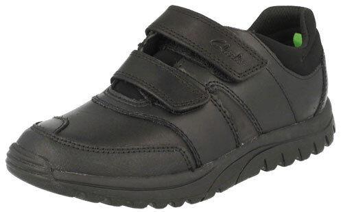 Tamaño Reino Spring 5 Clarks 1 Unido zapato g negro Jack Boys Nuevo 41qHawg1