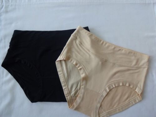 2 Pairs Ladies Hypoallergenic Moisture Absorbing Bamboo Briefs Pants Breathable