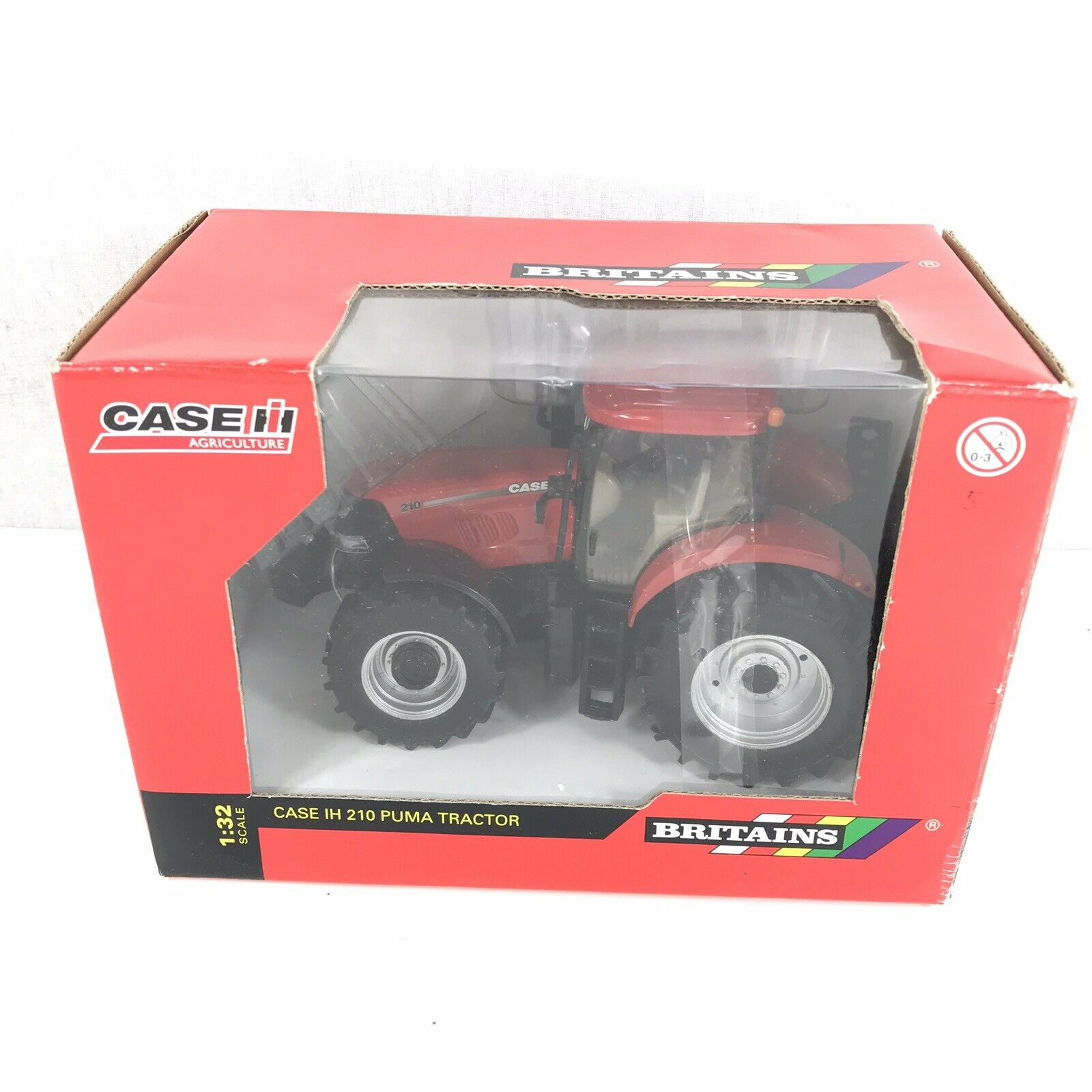 Britains Authentic Model 42303 Case IH 210 Puma Tractor 1 32 Scale Boxed