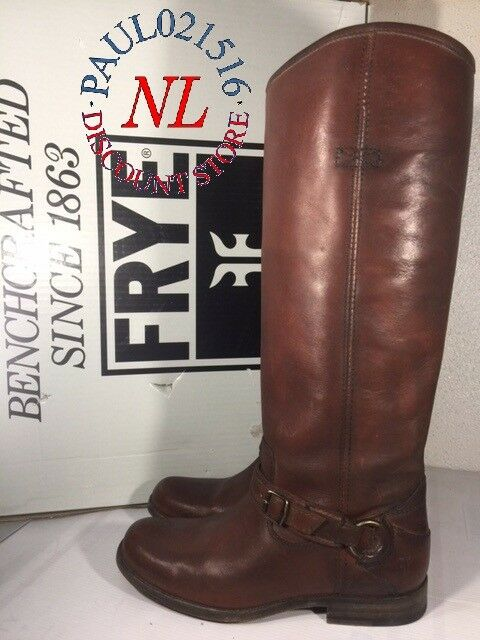 FRYE Women's Phillip Ring Tall Boots ~ Whisky ~ Various Sizes ! !