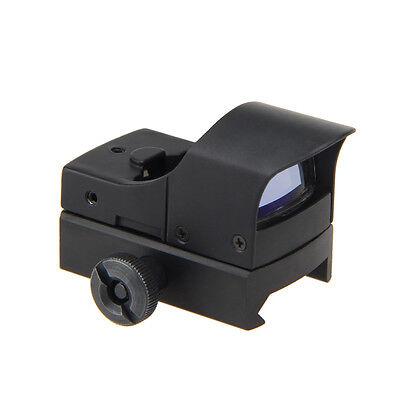 MIni Tactical Holographic Reflex Red Green Dot Sight Scope 20mm Rails Rifle Gun