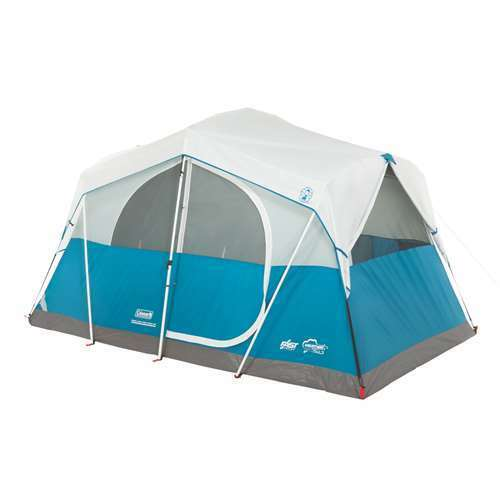 Coleman Echo Lake 6  Person Fast Pitch 12' x 7' Cabin Tent w  Cabinet (Open Box)  cheap in high quality