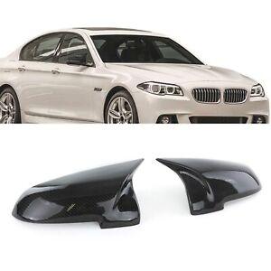 Carbone-Miroir-Bouchon-Sport-d-039-echange-Pour-BMW-5er-GT-f07-f10-f11-f18-7er-f01