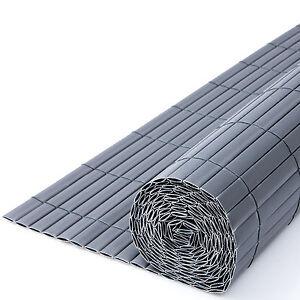3m pvc sichtschutzmatte 1 2m hoch sichtschutz zaun balkonschutz windschutz 7016 ebay. Black Bedroom Furniture Sets. Home Design Ideas
