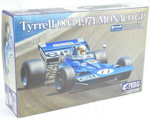 Ebbro 20007 Tyrrell 003 1971 Monaco GP 1//20 scale plastic model kit