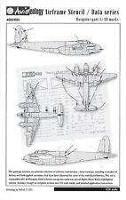 Aviaeology Decals 1/24 DE HAVILLAND MOSQUITO AIRFRAME STENCIL & DATA MARKINGS