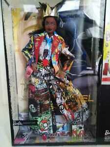 NRFB-Barbie-Jean-Michel-Basquiat-Doll-SOLD-OUT-Free-Shipping