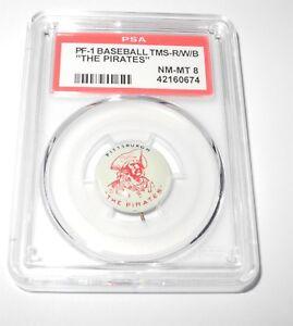 1940 45 Pf1 Baseball Teams Redwhiteblue Pittsburgh Pirates Pin