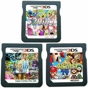 208-482-520-in-1-Video-Games-Cartridge-Cards-For-DS-NDS-2DS-3DS-NDSI-NDSL-USA