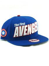 online store 77403 c86d7 item 3 New Era Captain America 9fifty Snapback Hat Adjustable First Avenger  Marvel Blue -New Era Captain America 9fifty Snapback Hat Adjustable First  ...