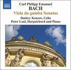 C.P.E. Bach: Viola da gamba Sonatas (CD, Mar-2008, Naxos (Distributor))