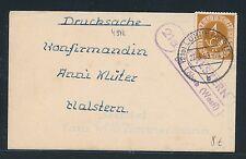 93142) OWL  Landpost Ra2 21a Halstern üb.Löhne (Westf.) , DS 1953