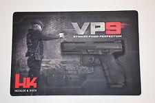 HECKLER & KOCH HK VP9 PISTOL ARMORERS BENCH MAT CLEANING MAT P30 P7M8 P7 PSP USP
