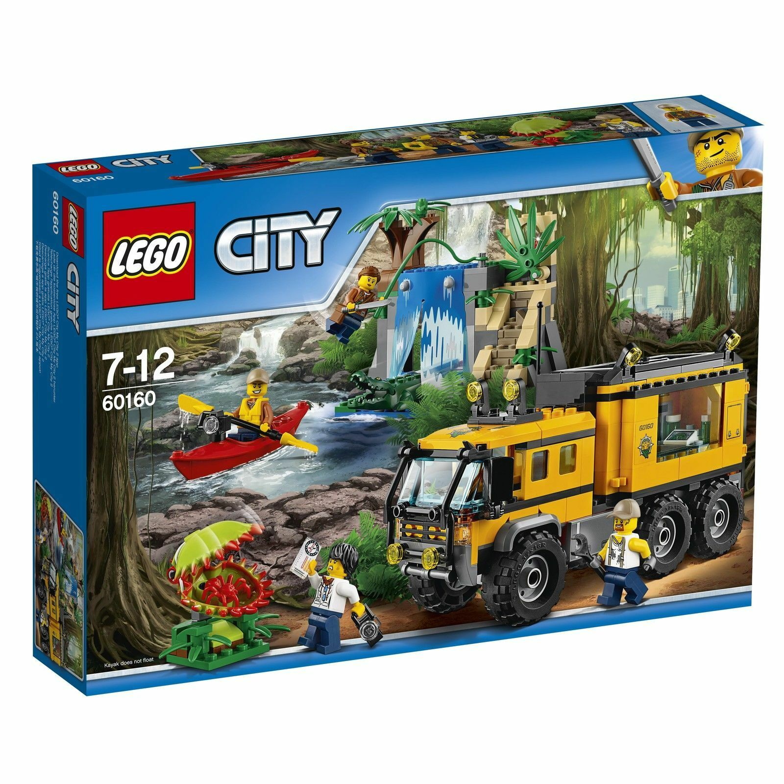 LEGO® City 60160  Mobiles Dschungel-Labor  Expedition NEU OVP  | Helle Farben