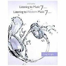 2 CD Set for Wright's Listening to Music, 7th and Listening to Western Music, 7t
