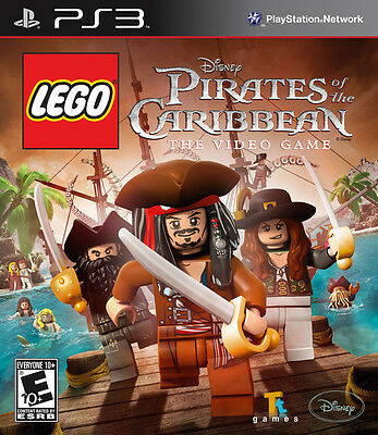 LEGO PIRATES OF THE CARIBBEAN PS3 GENUINE GAME BRAND NEW SEALED