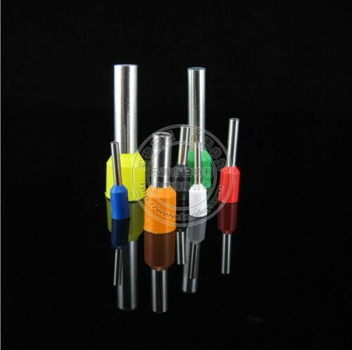 200pcs 5 AWG 16mm² Insulated Cord End Terminal Wire Ferrules E16-12