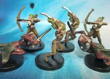Dungeons & Dragons Miniatures Lot  Elf Archer Ranger Barbarians !!  s101