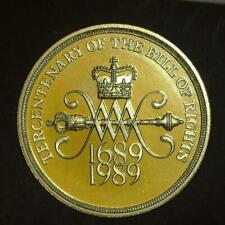 Cameo Proof Great Britain 1989 2 Pounds~Tercentenary Of The Bill Of Rights~Fr//Sh