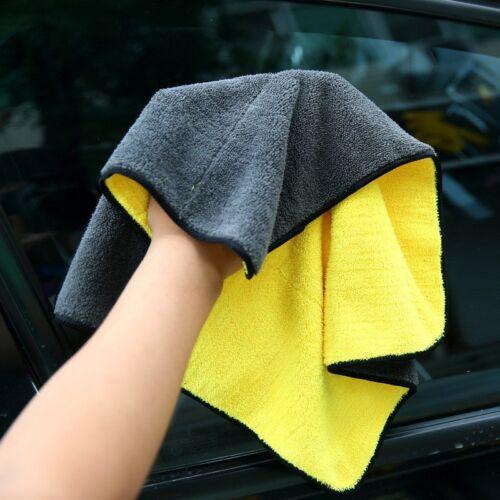 1pc Car Care Polishing Microfiber Washing Drying Towel Car Cleaning Cloth New