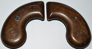 Details about Leinad Cobray Derringer 45/410 pistol grips dark brown  plastic + screw
