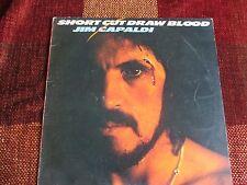 JIM CAPALDI - SHORT CUT DRAW BLOOD LP VINYL ILPS 9336 ISLAND 1975
