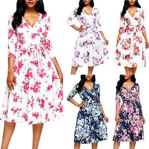 USA-Women-Summer-Boho-Short-Dress-Cocktail-Evening-Party-Dresses-Beach-Sundress