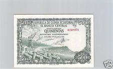 GUINEE EQUATORIALE 500 PESETAS 12.10.1969 PICK 2 !!!