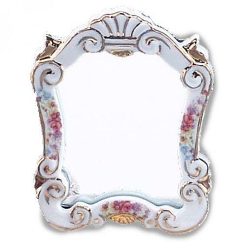 Dollhouse Baroque Mirror Dresden Rose 1.627//6 Reutter Miniature