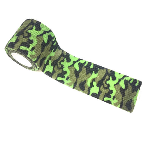 Hunting Camo Waterproof Tensile Elasticity Camouflage Stealth Tape Type 5 New