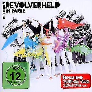 1 von 1 - CD DVD Album In Farbe Re-Edition von Revolverheld Halt Dich An Mir Fest NEUWARE