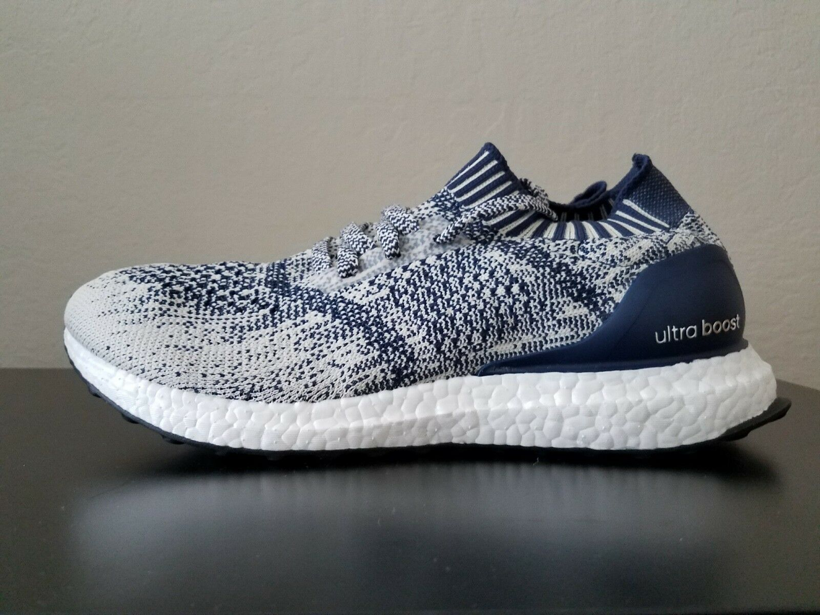 Adidas UltraBOOST Uncaged CG4096 Men's Size 9 in Cream Navy