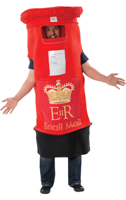 Hilfreich Orion Costumes Unisex Giant Red Postbox Mail Box Novelty Fancy Dress Costume Kann Wiederholt Umgeformt Werden.