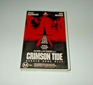 Crimson-Tide-VHS-PAL-Video-Gene-Hackman-Big-Box-Ex-Rental