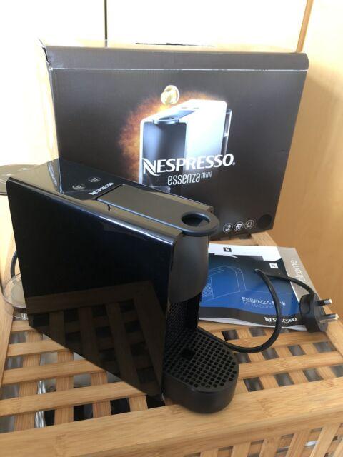 Nespresso Essenza Mini Coffee Machine - Black (Great Condition!)
